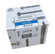Fis-Fix Fis spaanplaatschroef 4.0x50 VK PZD verzinkt 200 stuks