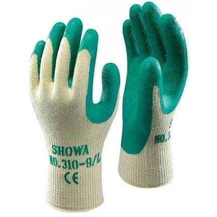 SHOWA 310 grip handschoenen groen
