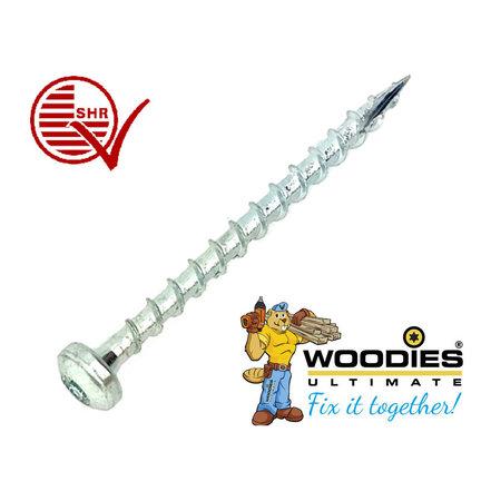 Woodies Ultimate Cilinderkop schroeven voldraad torx