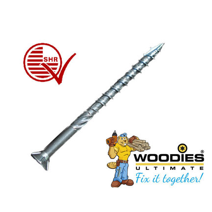 Woodies Ultimate Deeldraad RVS