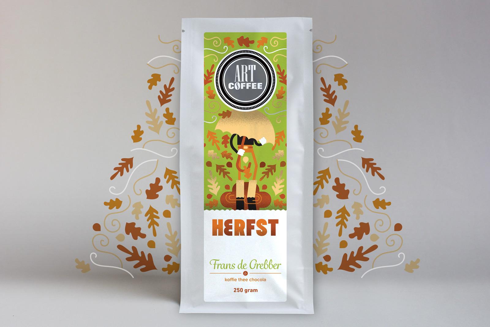 ARTcoffee HERFST koffie