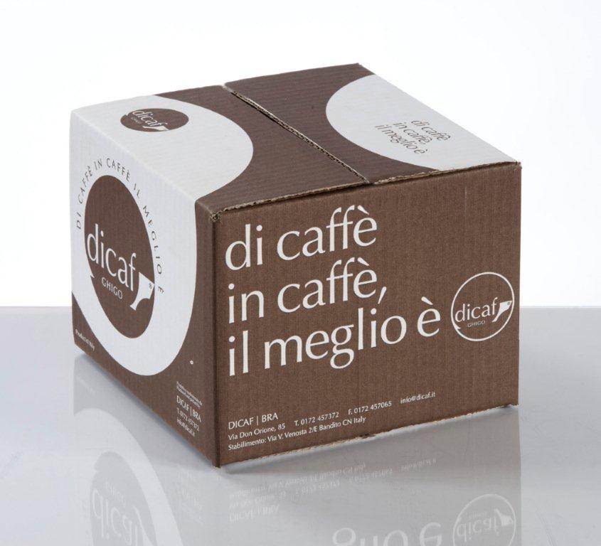 Dicaf Dark Roast Espresso ESE Serving Pods