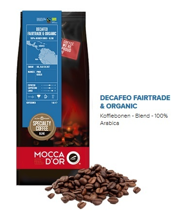 Mocca d'Or Decafeo Fairtrade & Organic MD