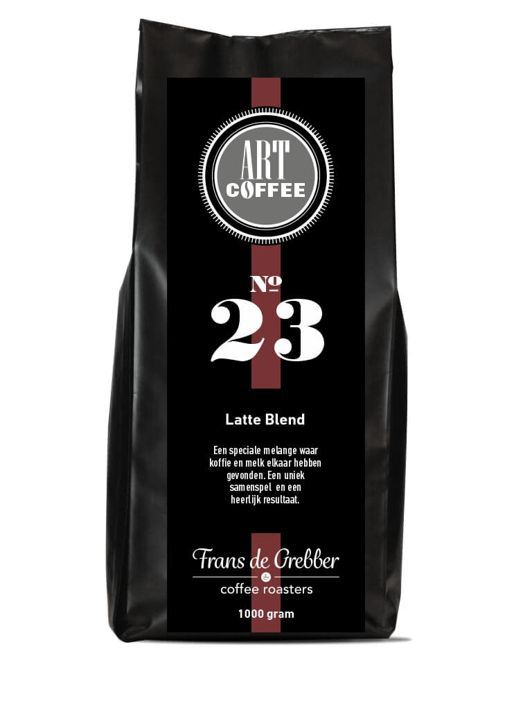 ARTcoffee Latte Blend koffie 23