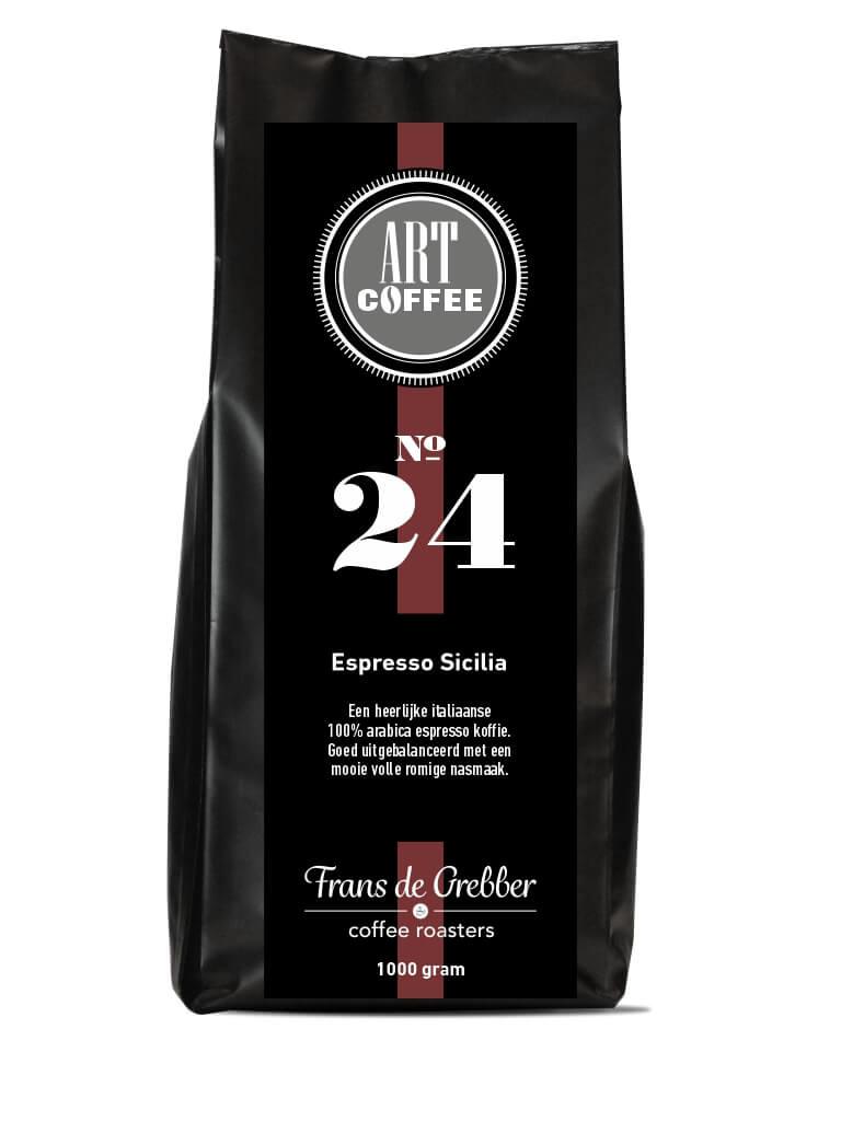 ARTcoffee Espresso Sicilia koffie 24