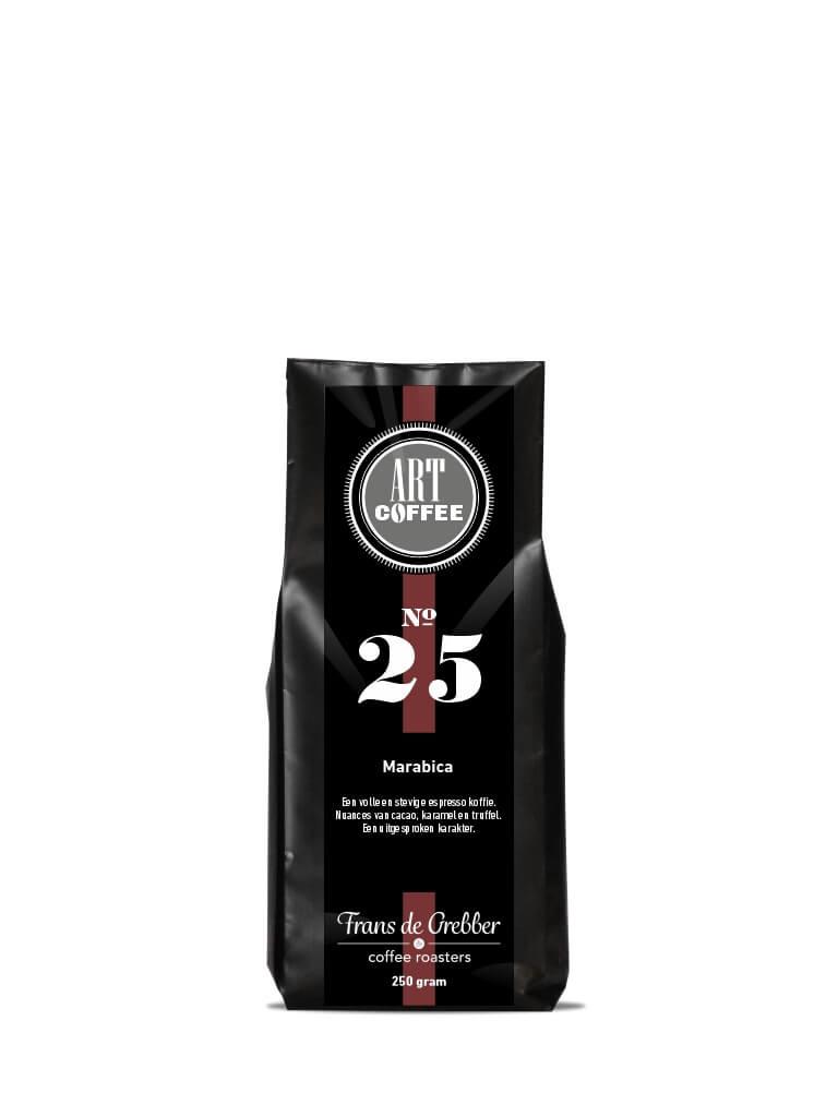 ARTcoffee Marabica koffie 25