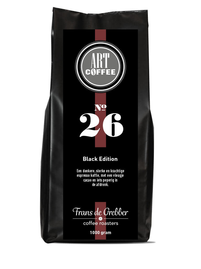 ARTcoffee Black Edition koffie 26