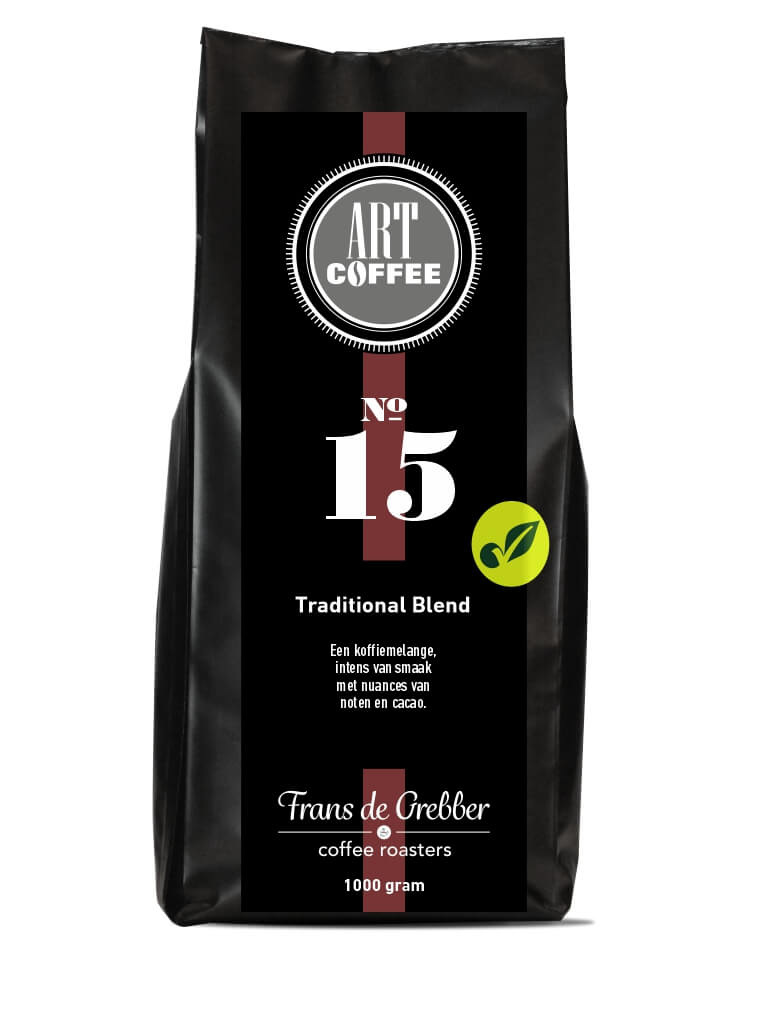 ARTcoffee Traditional Blend koffie 15