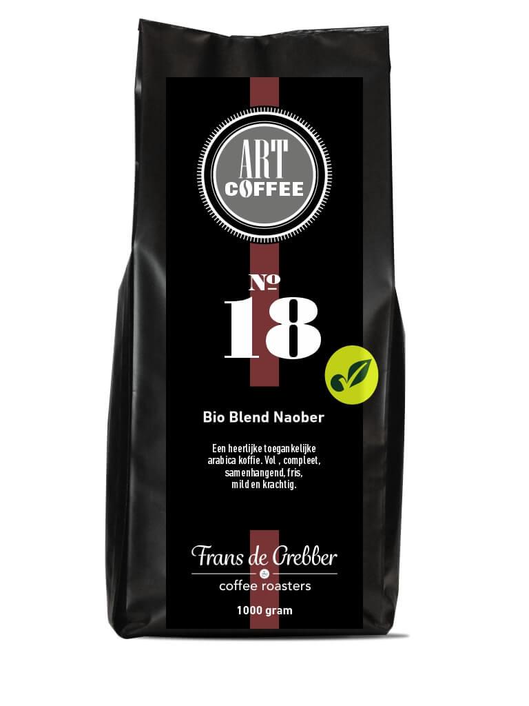 ARTcoffee Bio Blend Naober koffie 18