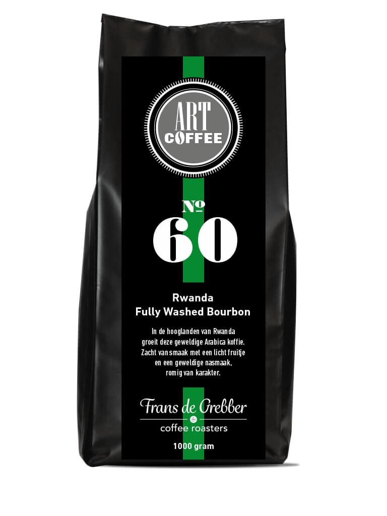 ARTcoffee Rwanda Fully Washed Boubon koffie 60