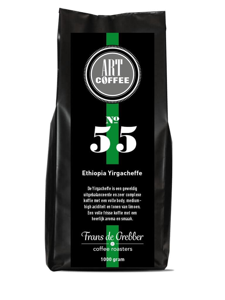 ARTcoffee Ethiopia Yirgacheffe koffie 55