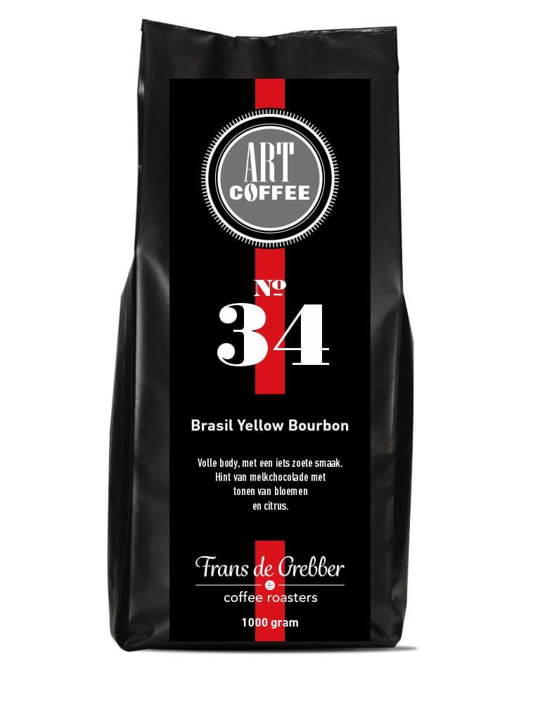 ARTcoffee Brasil Yellow Bourbon koffie 34