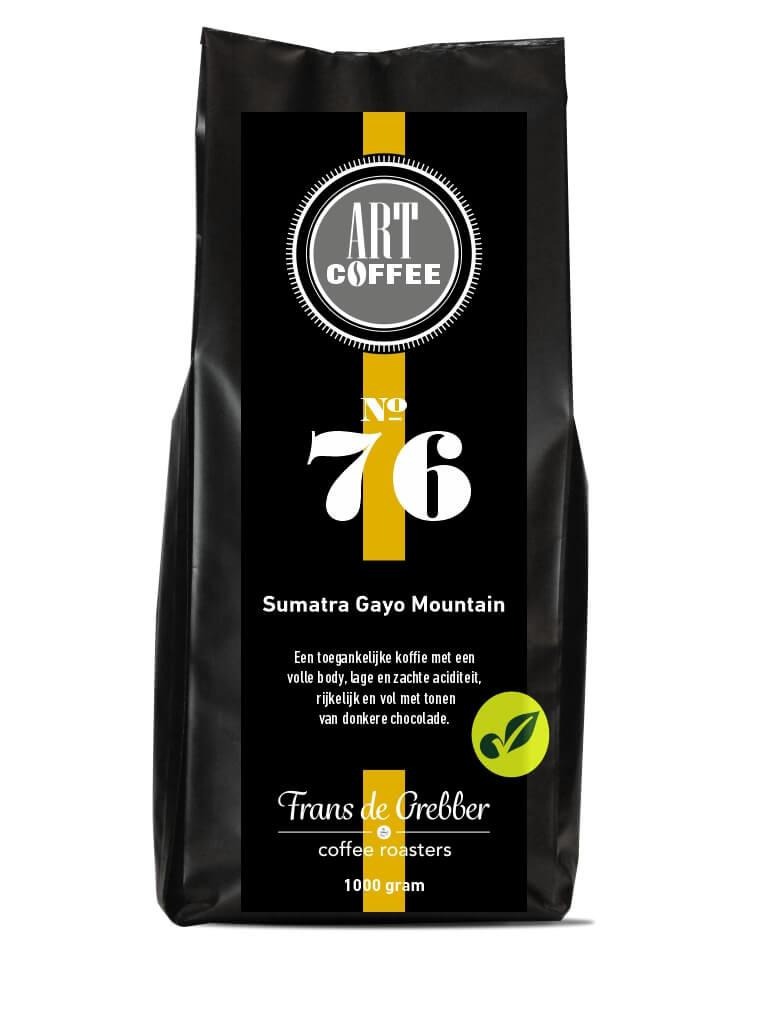 ARTcoffee Sumatra Gayo Mountain koffie 76