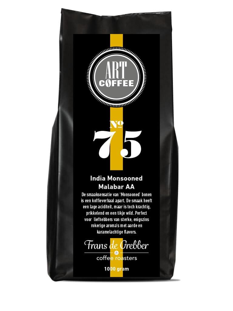ARTcoffee India Monsooned Malabar AA koffie 75