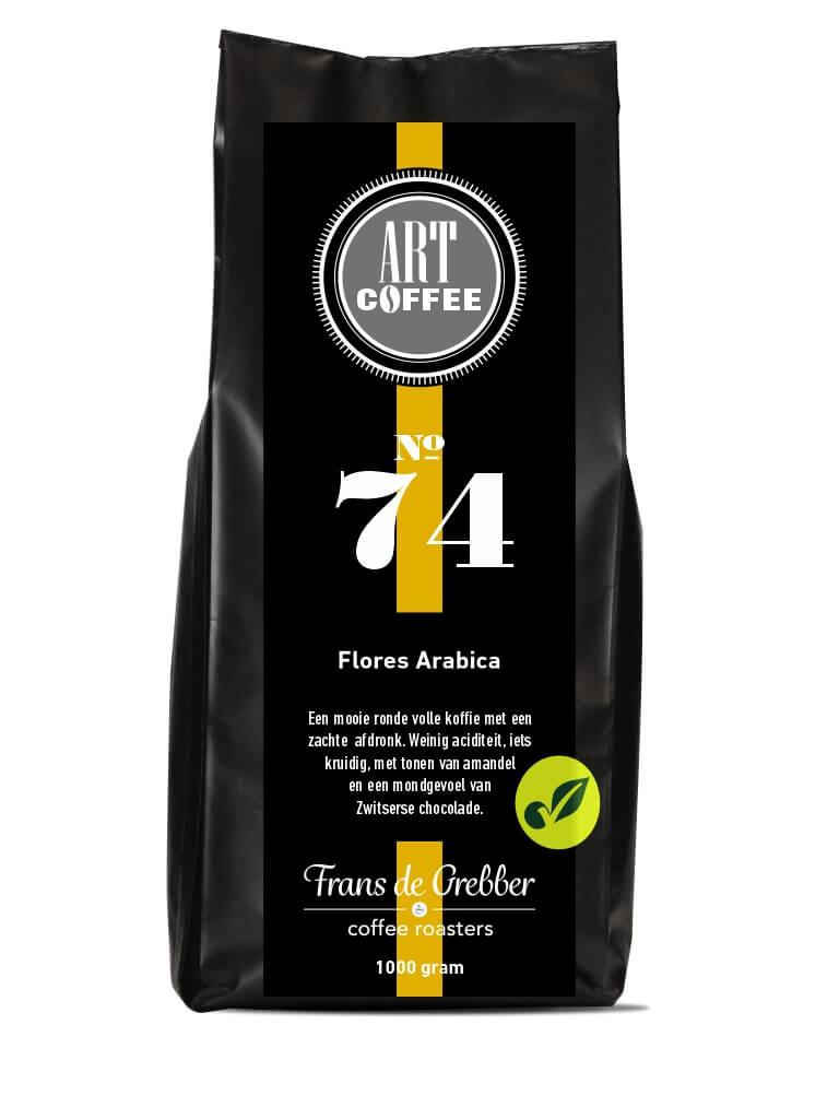 ARTcoffee Flores Arabica koffie 74