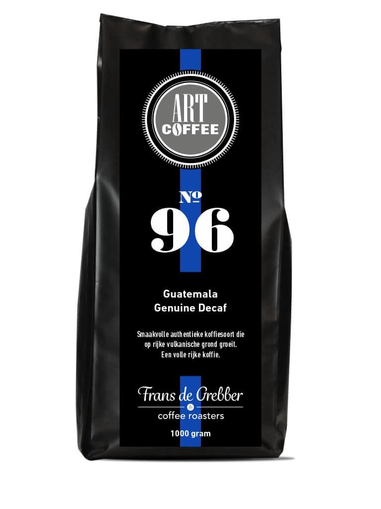 ARTcoffee Guatemala Genuine Decaf koffie 96