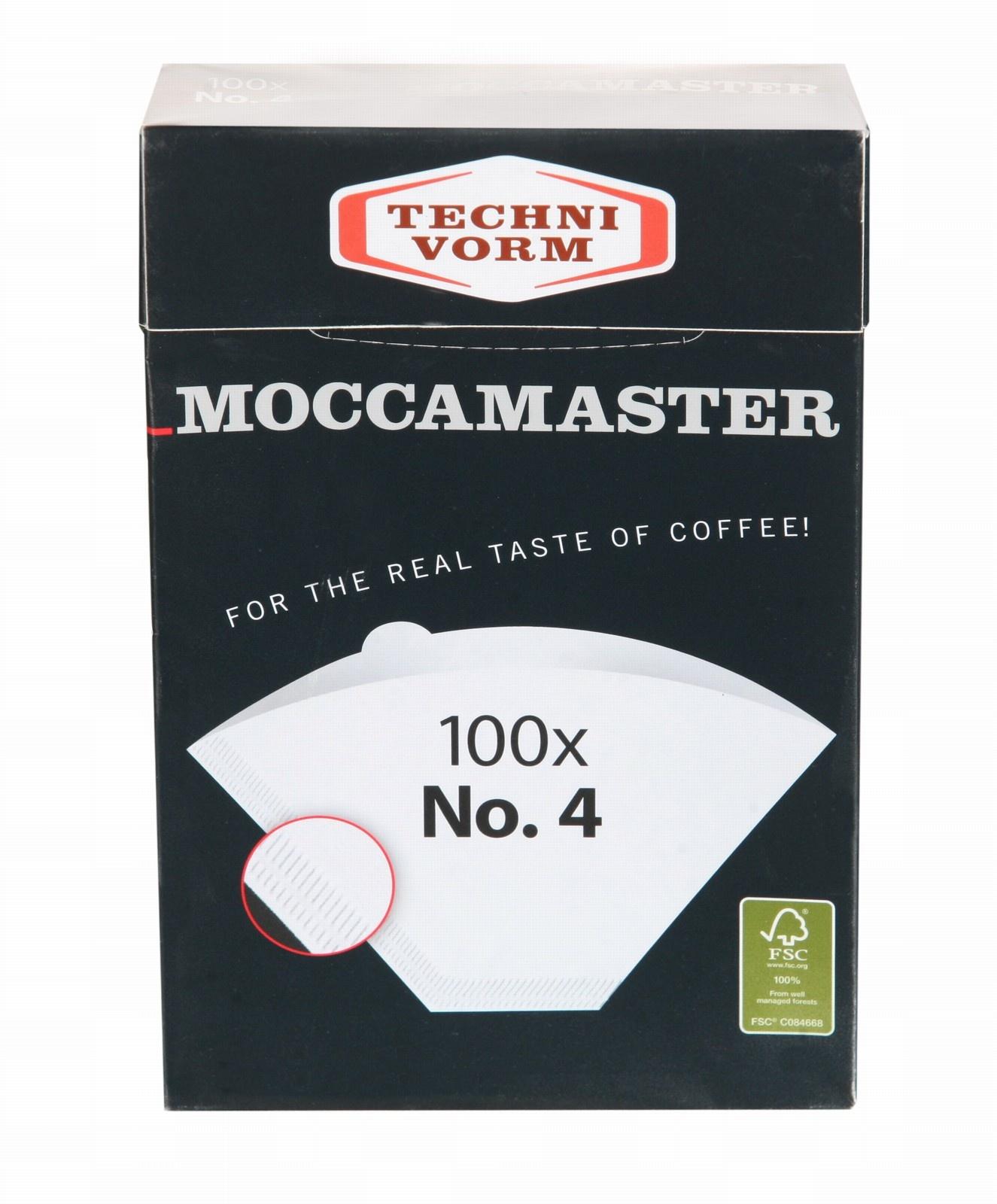 Moccamaster Moccamaster filterpapier Nr.4