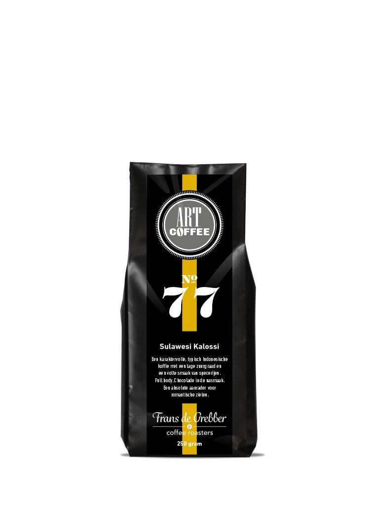ARTcoffee Sulawesi Kalossi koffie 77