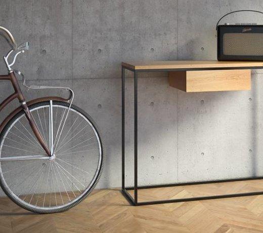 Konsolentische im skandinavischen Design