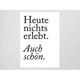 """typealive Poster """"Auch schön"""" von typealive"""