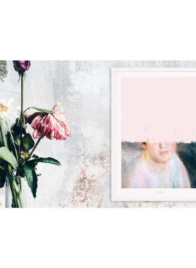 """Poster """"Unfinished Renoir"""" von typealive"""
