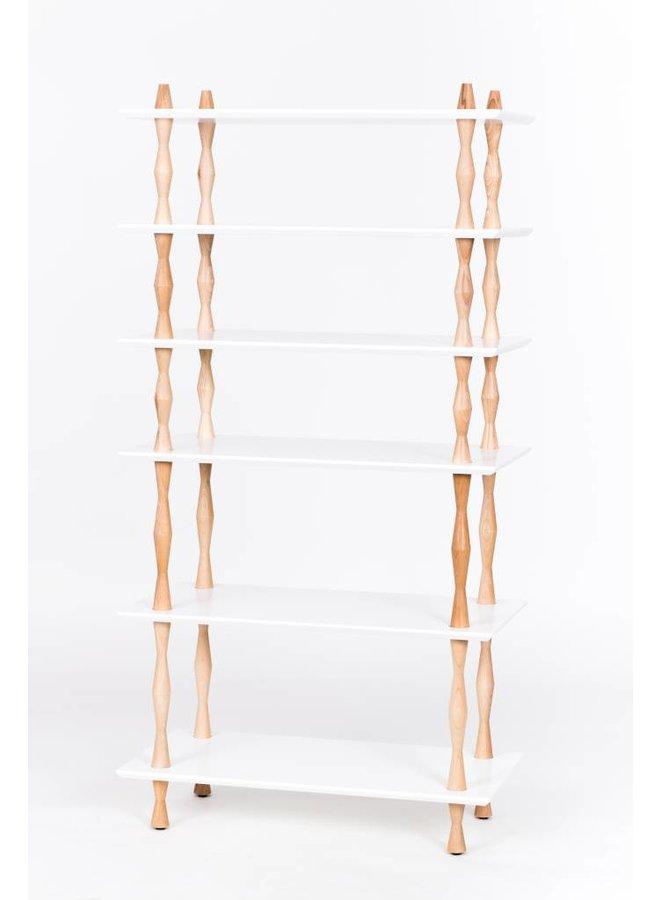 """Design-Bücherregal """"Korro schmal"""" von Ragaba"""