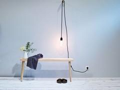 Sitzbänke im skandinavischen Design