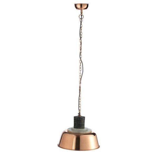 Madam Stoltz Pendelleuchte mit Kupfer-Lampenschirm von Madam Stoltz