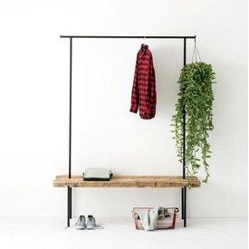 weld & co Design-Garderobe Altholz 01 von weld & co