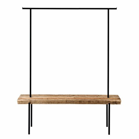 Design-Garderobe Altholz 01 von weld & co