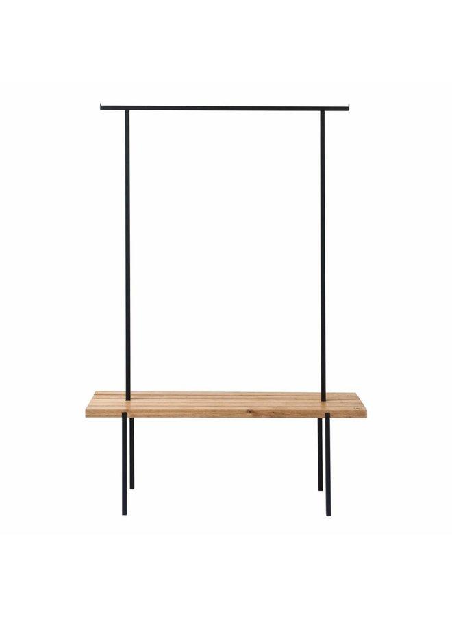 Design-Garderobe Eiche 01 von weld & co