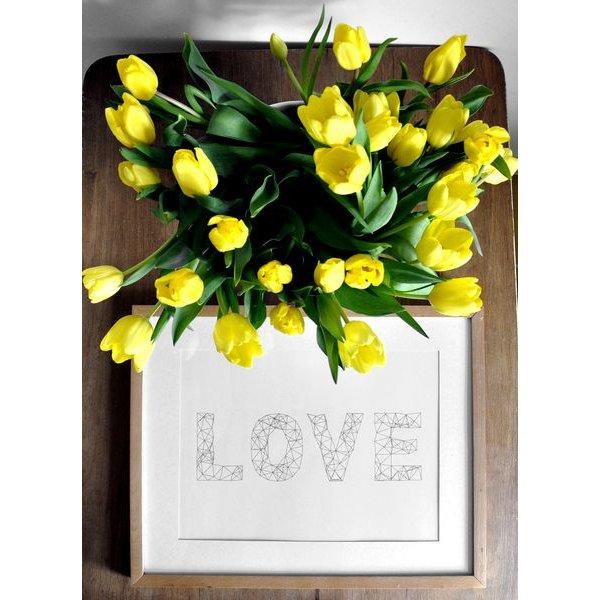 """na.hili Poster """"Love"""" von na.hili"""