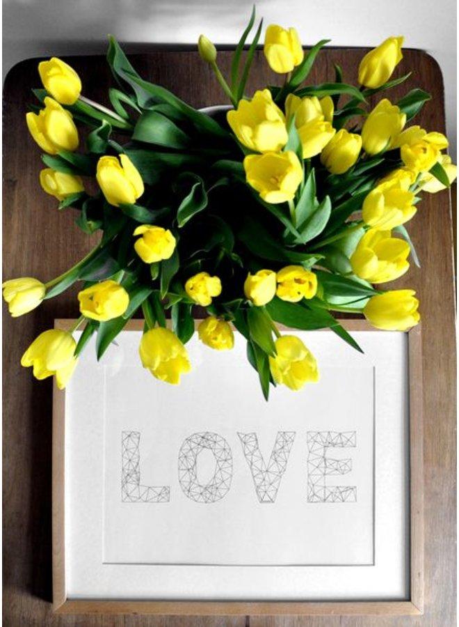 """Poster """"Love"""" von na.hili"""