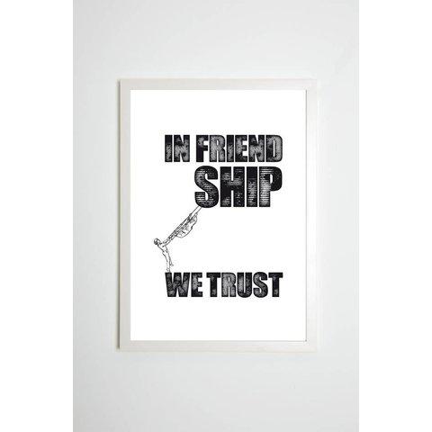 """Poster """"Friendship"""" von Kaltenbach's Töchter"""