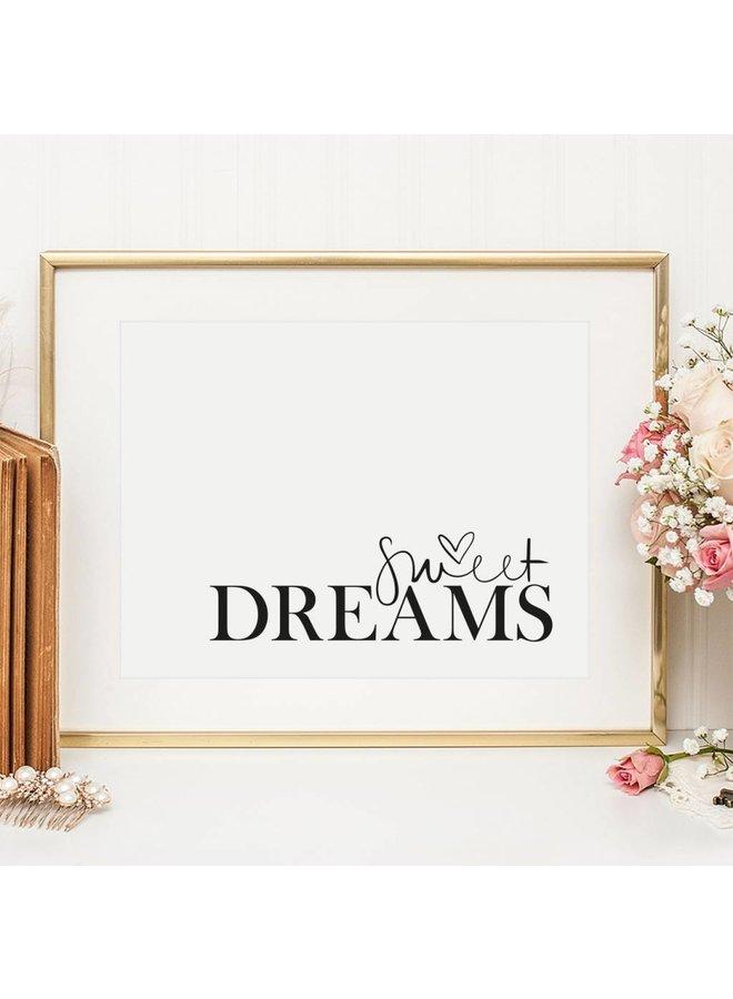 """Poster """"Sweet Dreams"""" von Tales by Jen"""