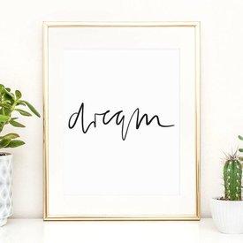 "Poster ""Dream"" von Tales by Jen"