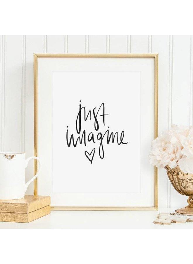 "Poster ""Imagine"" von Tales by Jen"