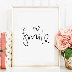 "Poster ""Smile"" von Tales by Jen"