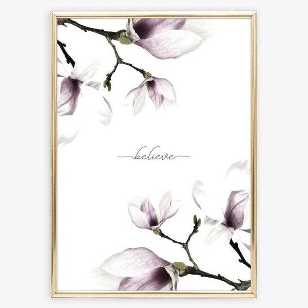 """Tales by Jen Poster """"Believe"""" von Tales by Jen"""