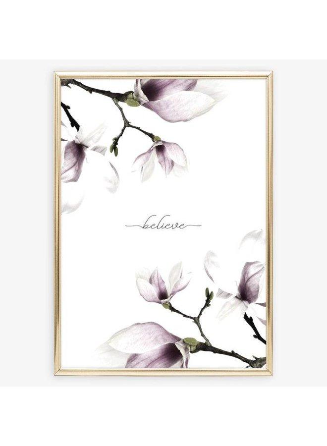 """Poster """"Believe"""" von Tales by Jen"""