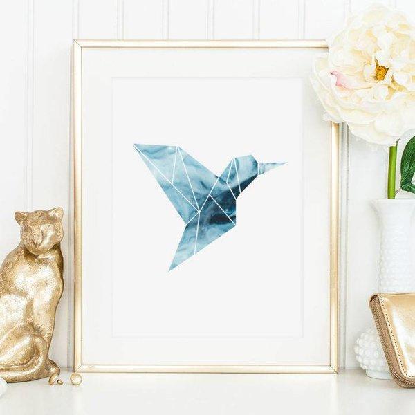 """Tales by Jen Poster """"Kolibri"""" von Tales by Jen"""