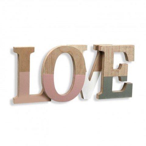 """Deko-Buchstaben """"Love"""" von Versa"""