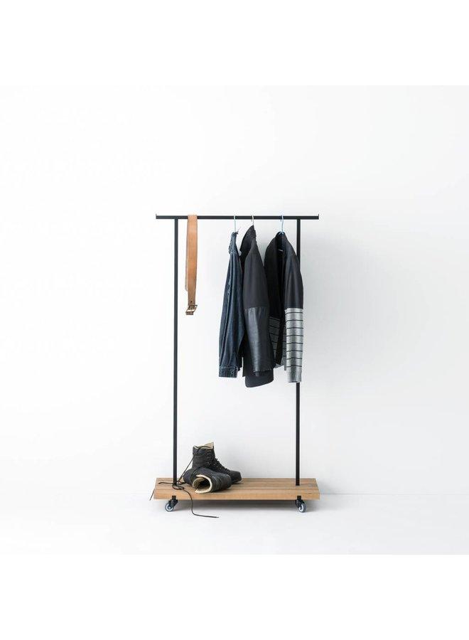 Design-Kleiderstange Eiche 01 von weld & co