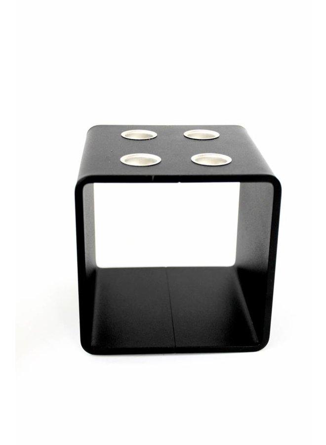 """Kerzenhalter """"4glow cube"""" von Hauszeitdesign"""