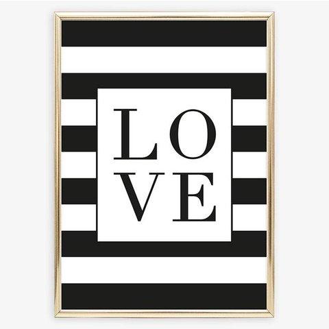 "Poster ""Monochrome Love"" von Tales by Jen"