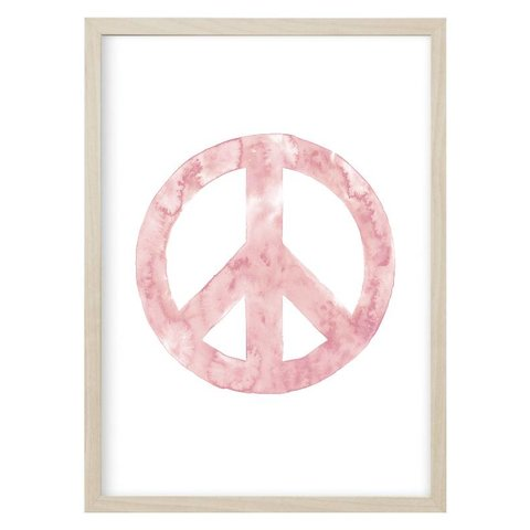 """Poster """"PEACE"""" Rosa von Kruth Design"""