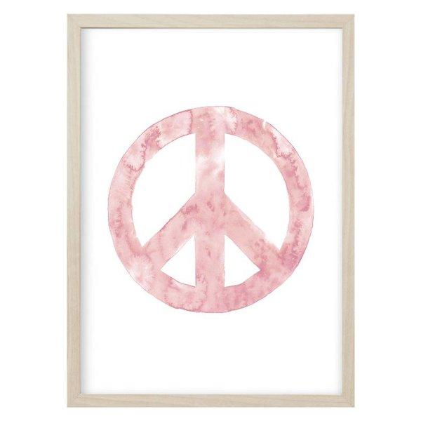 """Kruth Design Poster """"PEACE"""" Rosa von Kruth Design"""