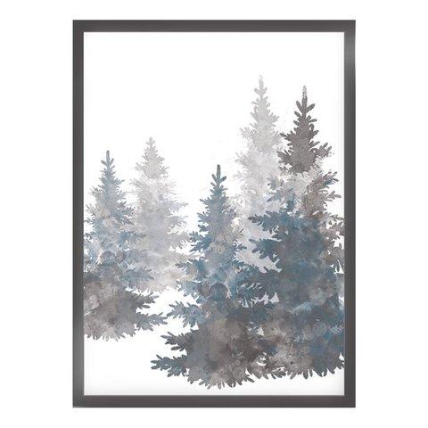 """Poster """"GREY TREES"""" von Kruth Design"""