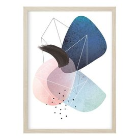 "Kruth Design Poster ""ABSTRACT NO. 1"" von Kruth Design"