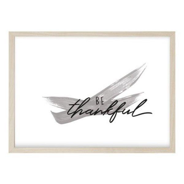 """Kruth Design Poster """"THANKFUL"""" von Kruth Design"""